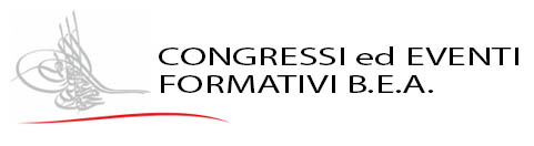Congressi ed Eventi Formativi B.E.A. Logo